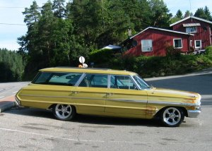 1964 Ford Country Sedan galaxie station wagon