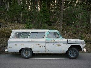 1966 GMC Suburban Carryall SUV