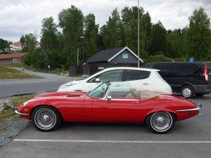 1974 Jaguar E-type Series 3 V-12 Roadster