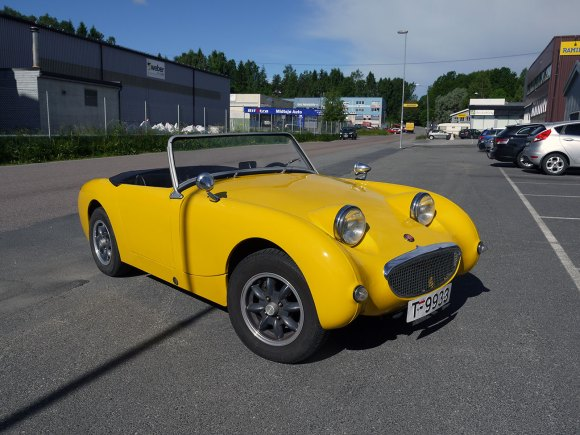 1959 Austin-Healey Sprite BMC Frogeye