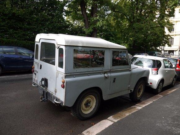 1968 Land Rover Series IIA 88 two door