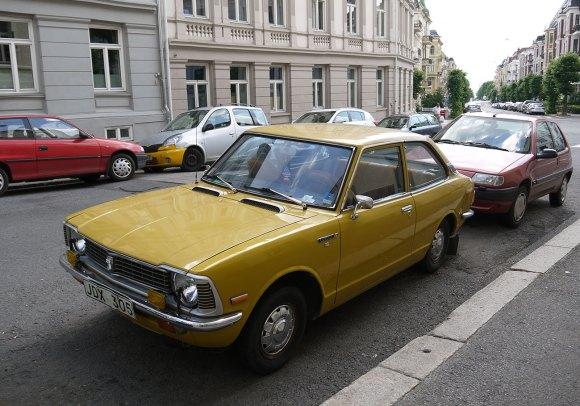 1976 Toyota Corolla ke20 sedan