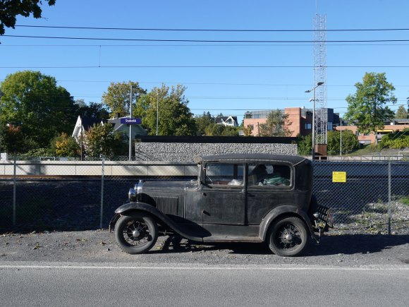 1931 Ford Model A Tudor patina survivor
