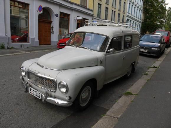 1962 Volvo Duett van