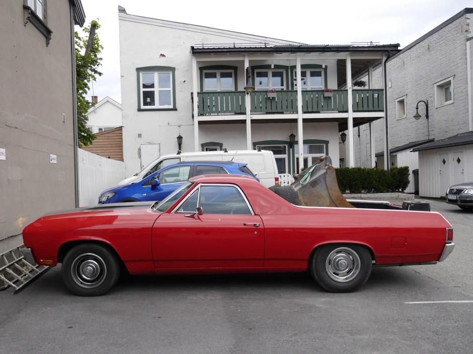 1970 Chevrolet El Camino pickup ute sarpsborg