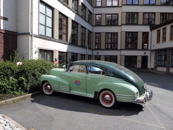 1948 Chevrolet Fleetline Fleetmaster Oslo Norway classic car street parked