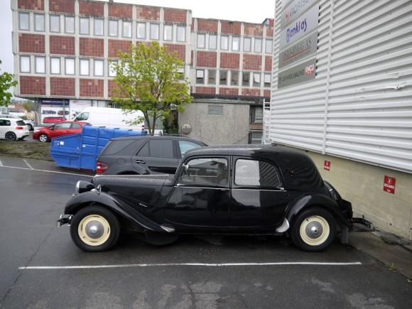 1951 Citroen 11Bl Traction Avant pre war old parked cars