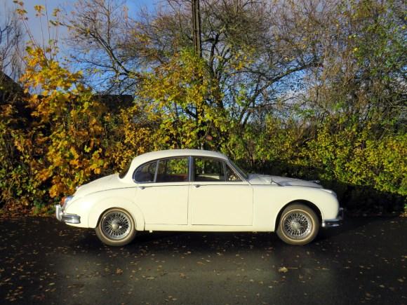 1960 Jaguar Mark 2 3.4 Litre british clasisc car oslo norway