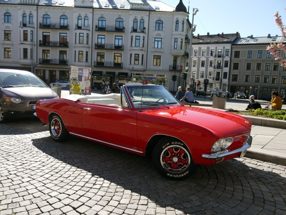 1965 Chevrolet Corvair Monza convertible second generation air cooled classic car