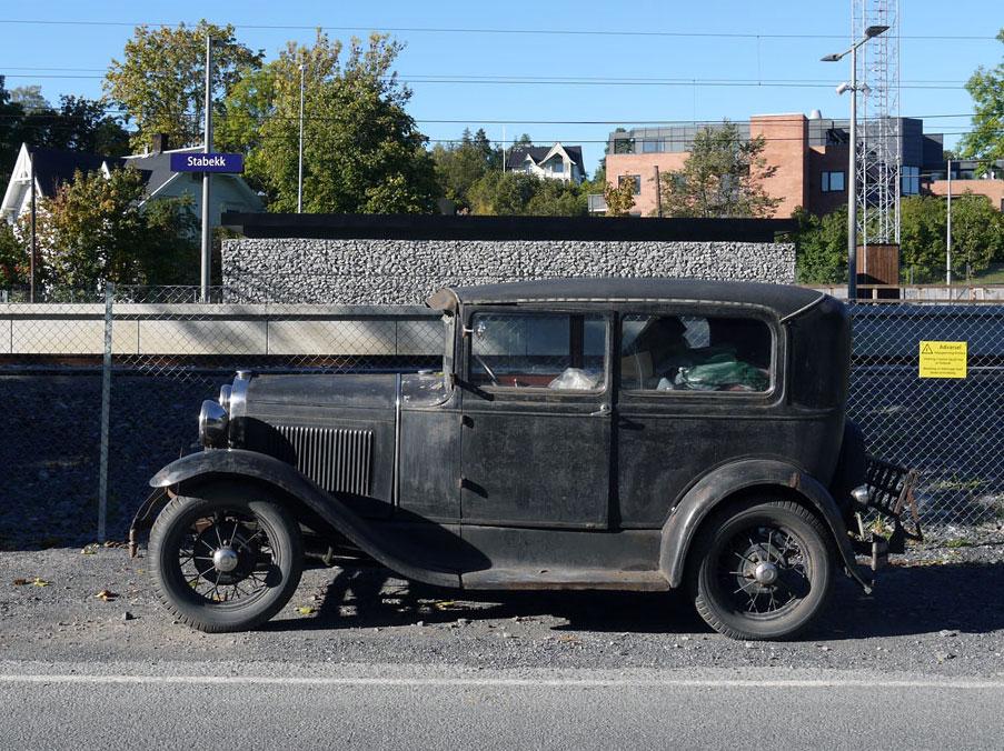 1931 FORD MODEL A TUDOR