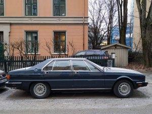 1983 MASERATI QUATTROPORTE 4900