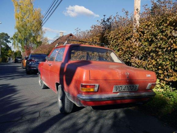 1972 Opel KADETT old parked cars norway