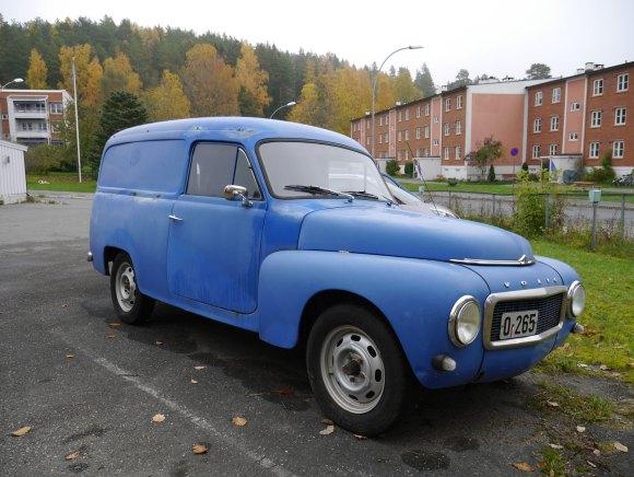 1965 Volvo Duett P210 van