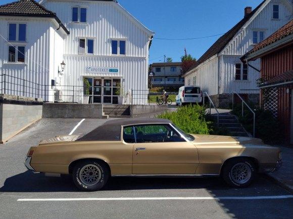 1971 Pontiac Grand Prix coupe