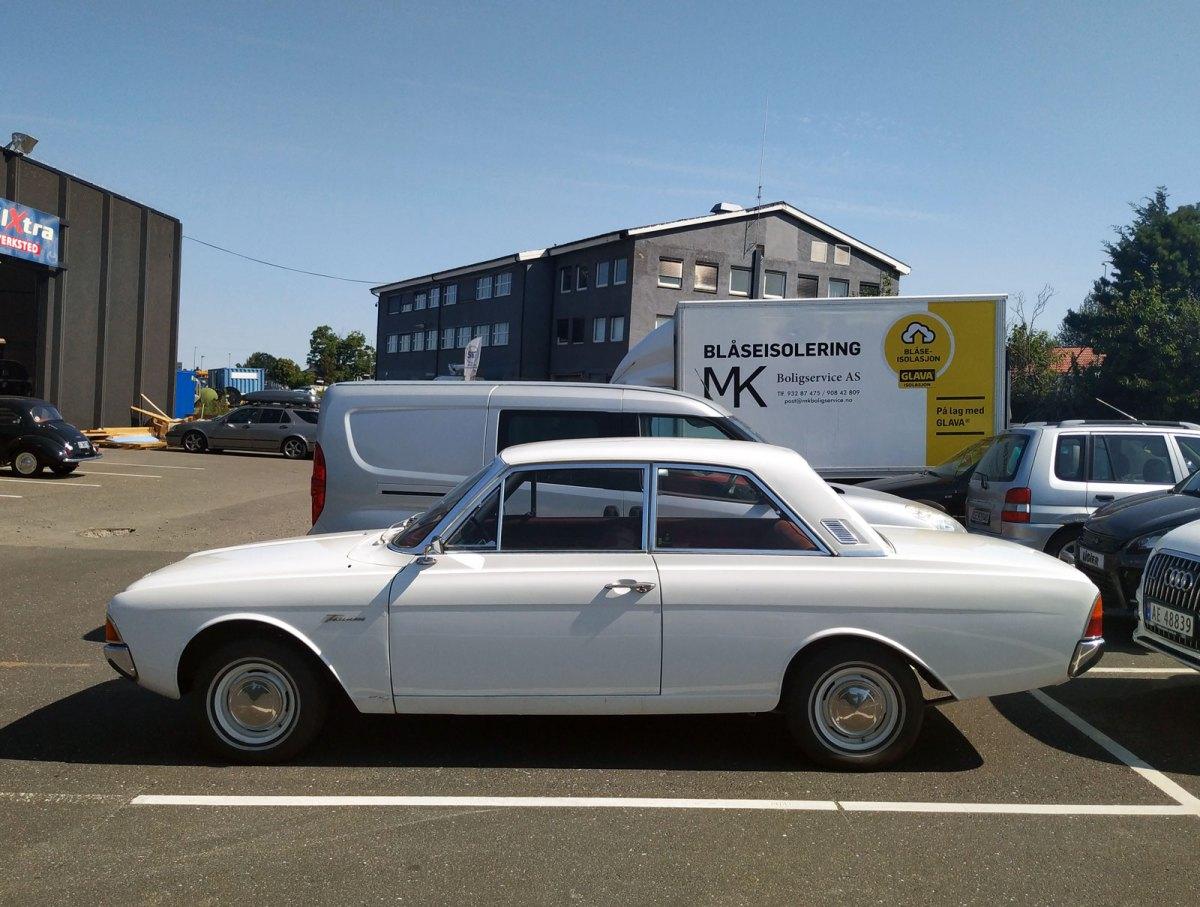 1967 Ford Taunus 17m Super