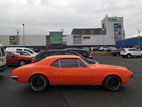 1967 Pontiac Firebird classic old parked cars thumbnail