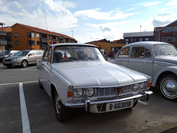 1971 Rover 3500 p6 v8 old parked cars
