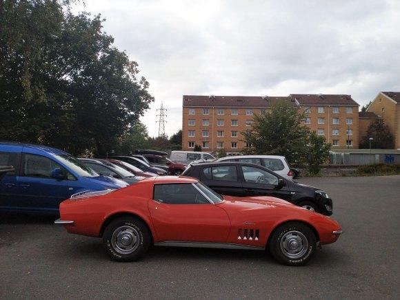 1969 Chevrolet Corvette c3 profile