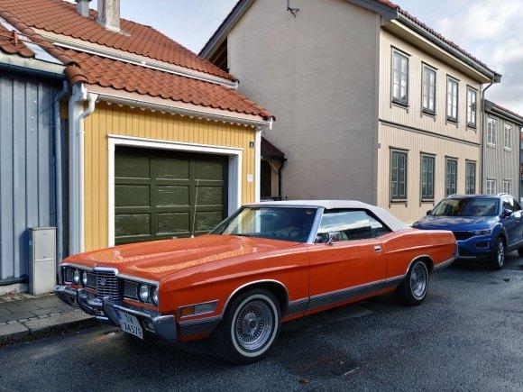 1972 Ford LTD cabriolet
