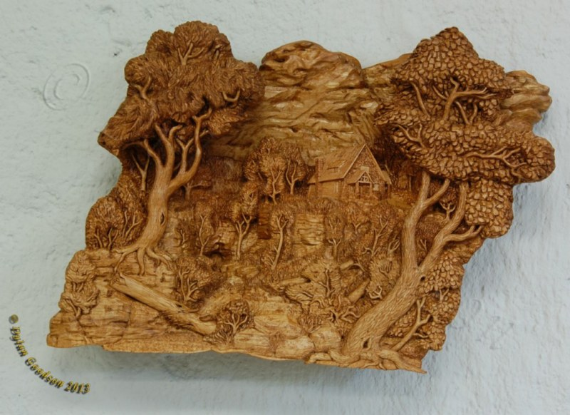 Relief carvings wood carvings by dylan goodson