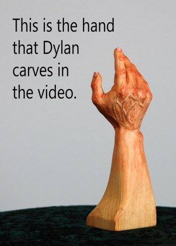 Carving Hands Video product image