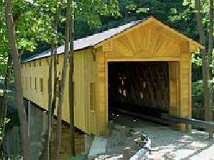 windsor mill covered bridge