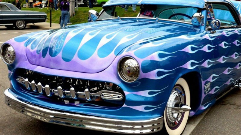 old orchard beach maine car show event