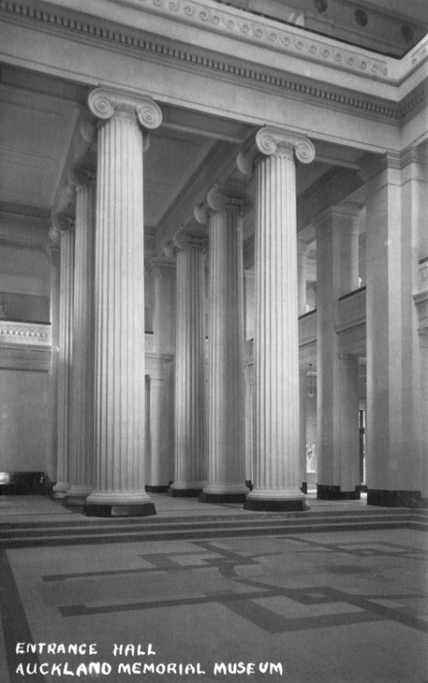 Entrance Hall, Auckland War Memorial Museum (completed 1929)