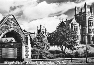 Boys High School, Arthur Street (built in 1885, school founded in 1863 in Tennyson Street)