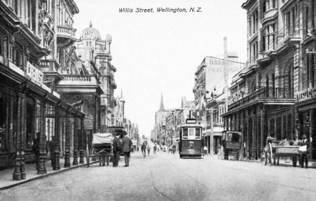 Willis Street, circa 1904