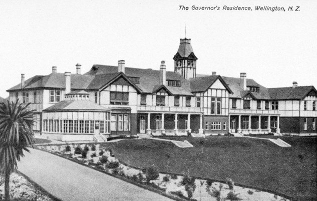 The Governor's Residence, 1904