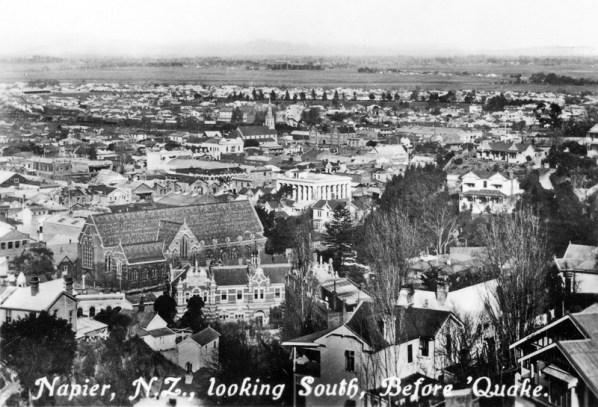 General view south (pre-earthquake)