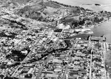 Aerial view of Nelson