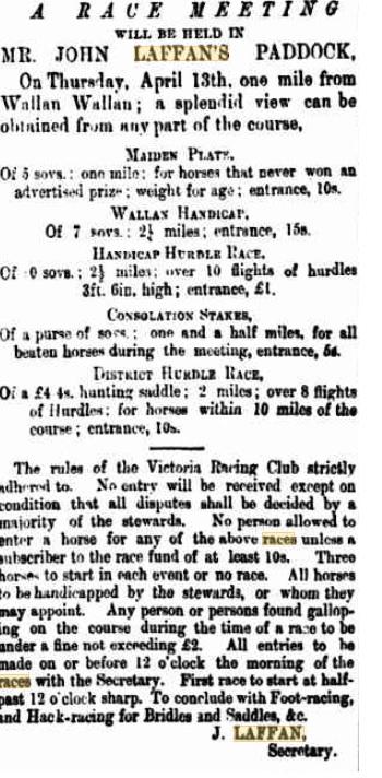 Kilmore Free Press - March 23rd, 1876