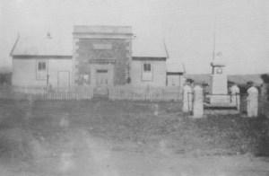 Wallan War Memorial in 1925