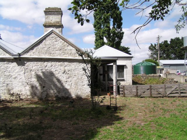 Front view of house at Mac'sfield