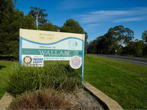 Wallan Sign