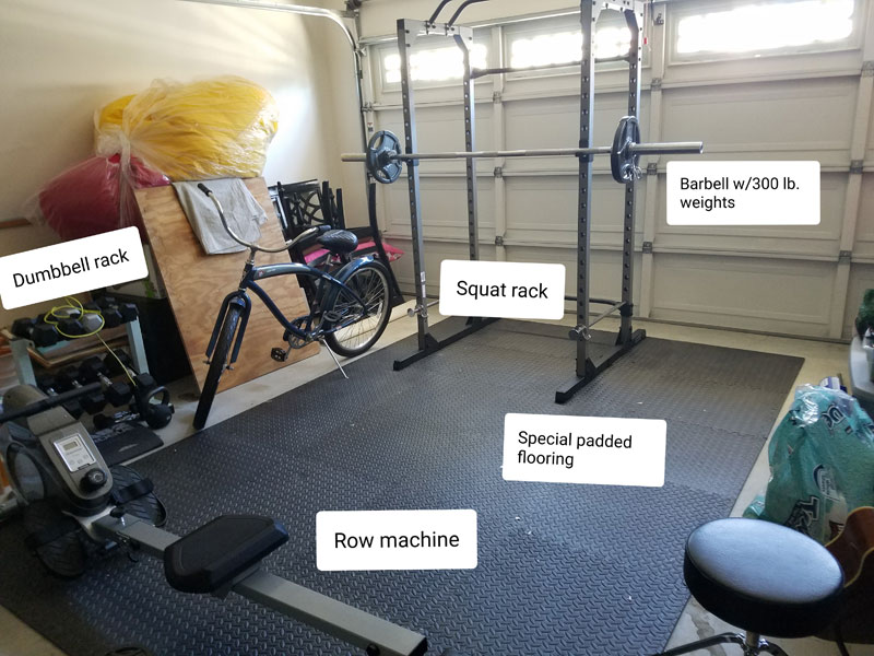 Optimal Health Daily's Dr. Neal Has a Home Gym