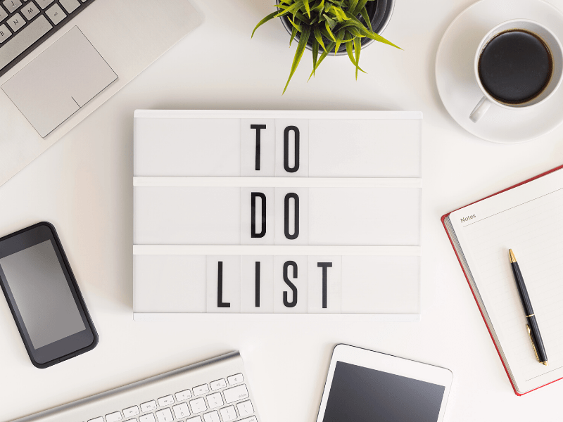 How Do I Create A To-Do List When I'm Overwhelmed?