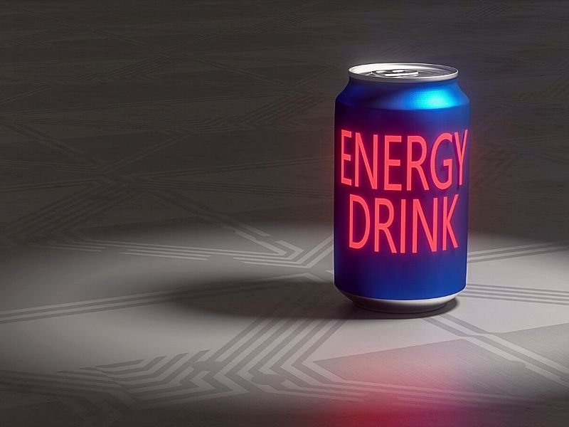 Energy Drinks and Sugar Free Coffee