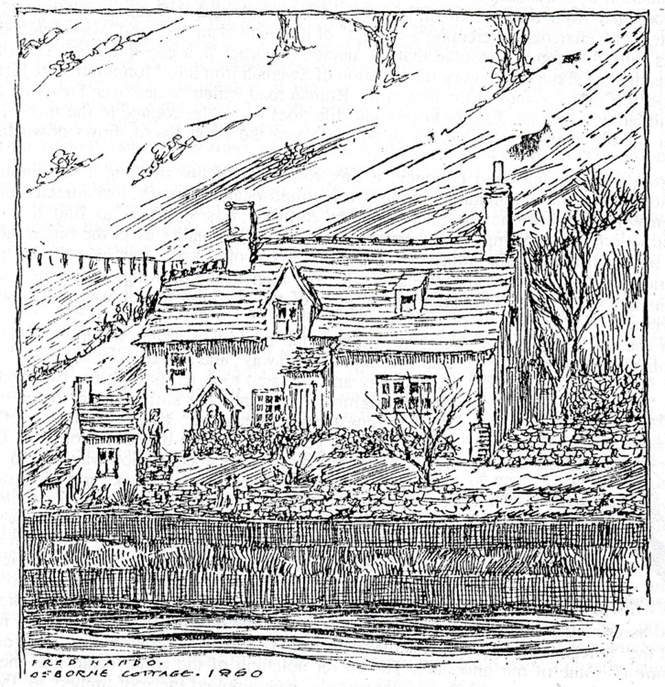 Osborne Cottage at Pontnewynydd (1/4)