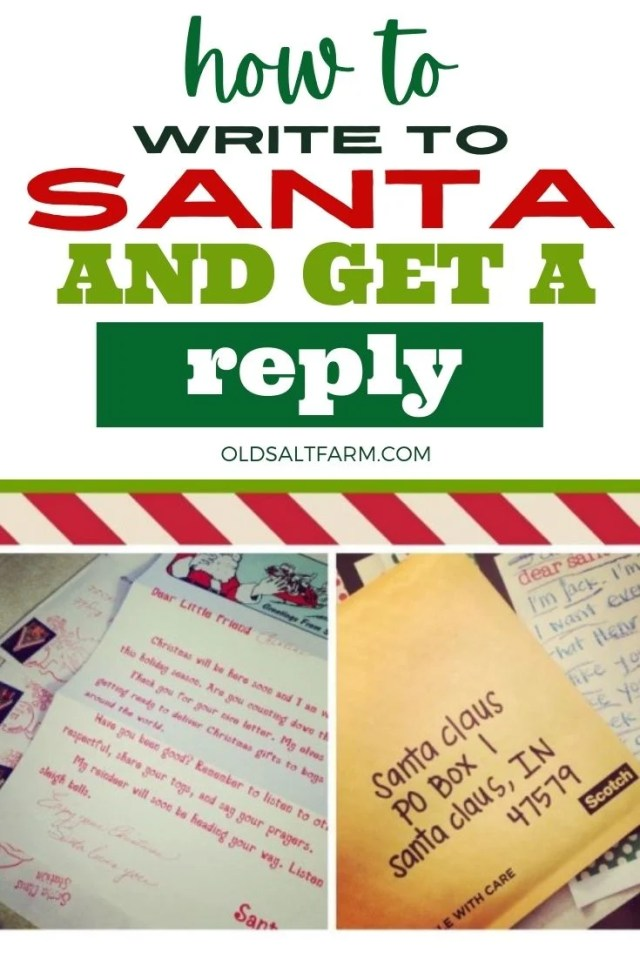 How to Send Letters to Santa and Get a Reply  oldsaltfarm.com