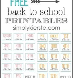 Free Back to School Printables   oldsaltfarm.com [ 2550 x 2050 Pixel ]