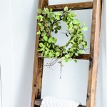 Easy 15 Wooden Blanket Ladder In Less Than An Hour
