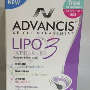 Advancis Lipo 3 Fat Burner – 60 Tablets