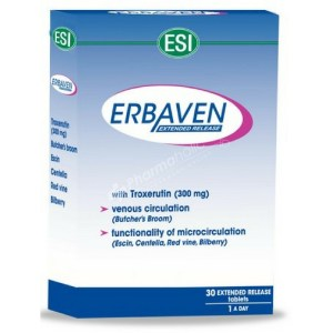 ESI Erbaven Extended Release – 30 Tablets –