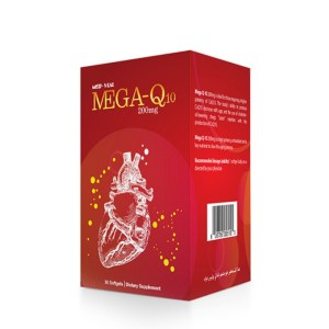 Med-Vial Mega-Q10 – 30 softgels –