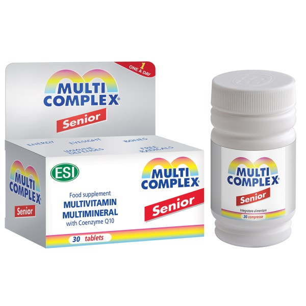 ESI Multicomplex Senior – 30 Tablets –