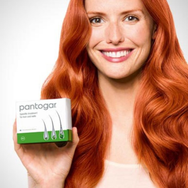 Pantogar Specific Treatment for Hair and Nails – 90 Capsule –