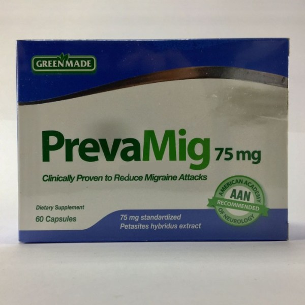 Green Made PrevaMig 75mg – 60 capsules –